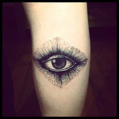 Eye by Brucius Tattooist