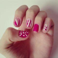 Cute Pink Nails #36