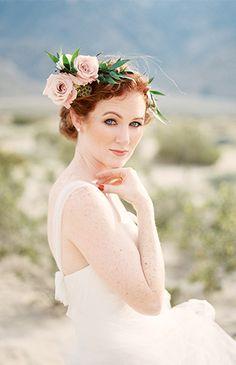 Navy and Gold Desert Wedding Inspiration