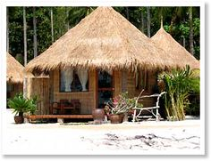 I can't wait to go to Thailand and stay in a little beach hut!