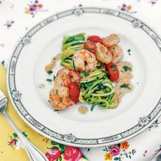 Paleo Meals: Zucchini Noodles with Sautéed Shrimp Healthy Eating Recipes, Healthy Foods To Eat, Paleo Recipes, Cooking Recipes, Paleo Meals, Cooking Ideas, Healthy Eats, Fast Metabolism Diet, Post Workout Food