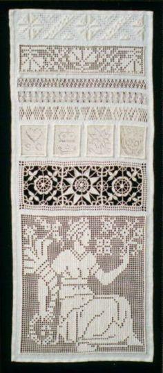 White work sampler