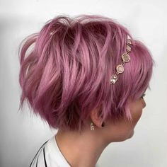 Latest Short Wavy Hairstyles for Women with Style - women. - - Latest Short Wavy Hairstyles for Women with Style – women. Short Wavy Hairstyles For Women, Short Haircut Styles, Choppy Bob Hairstyles, Short Hairstyles For Thick Hair, Best Short Haircuts, Curly Hair Styles, Cool Hairstyles, Hairstyle Ideas, Hairstyle Short