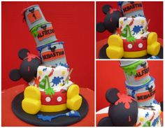Mickey Mouse pintor!!!