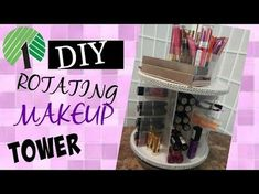 Trendy Diy Make-up Aufbewahrungsbox Dollar Stores Ideas - # Diy Makeup Organizer, Makeup Storage Organization, Diy Storage, Bathroom Organization, Storage Organizers, Storage Ideas, Dollar Store Crafts, Dollar Stores, Home Design