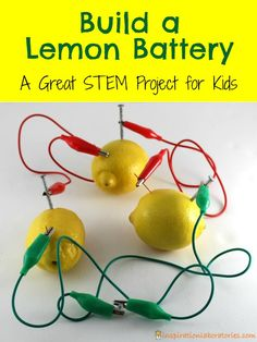 Did you know that lemons and other fruit can power a light bulb or a clock? Learn how to make your own lemon battery in this post sponsored by Green Works. #NaturalPotential