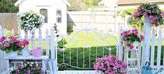 deck railing…