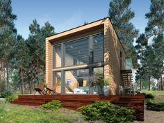 Venez découvrir Kubu, une incroyable maison en kit à construire en moins d'un mois.