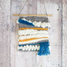 Pop-up Weaving Loom - Wall Hanging Piece Weaving Yarn, Hand Weaving, Textiles, Color Crafts, Woven Wall Hanging, Textile Art, Pop Up, Crafts For Kids, Tapestry