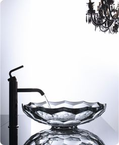 Glass sinks are even superior bathroom sinks for smaller spaces. A glass sink is an ideal method to put in a sense of lightness and spaciousness in a little powder room. There are various ways a sink can be set… Continue Reading → Glass Bowl Sink, Glass Bathroom Sink, Glass Basin, Glass Vessel Sinks, Bathroom Fixtures, Cuba, Kohler Sink, Sink Faucets, Sink Countertop