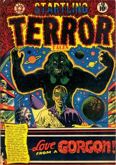 Comic Book Cover For Startling Terror Tales #13