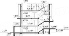 Rzut projektu Kasinka DM-6031 House Plans, Floor Plans, Houses, Flooring, How To Plan, Garden, Arquitetura, Modern Houses, Homes