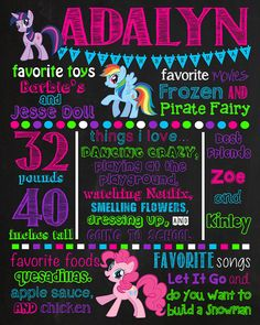 Hey, I found this really awesome Etsy listing at https://www.etsy.com/listing/213646156/my-little-pony-chalkboard-sign