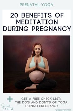 Meditating during pregnancy has a plethora of health benefits for both mom and baby. Need proof? Click through for 20 amazing, science-backed benefits of meditation during pregnancy. Because you and your baby deserve to reap the benefits of a healthy, happy, mindful pregnancy. Plus, get a free guided meditation for moms! #healthypregnancy #mndfulmama #mindfulnessmeditation Benefits Of Mindfulness, Meditation Benefits, Free Guided Meditation, Mindfulness Meditation, Mom And Baby Yoga, Mindful Parenting, Prenatal Yoga, Meditation Techniques, My Yoga