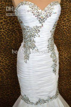 Wholesale - NWT WHITE PAGEANT PROM FORMAL EVENING WEDDING LONG BALL GOWN DRESS CORSET, $204.53/Piece | DHgate