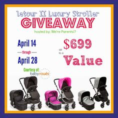 Housewife on a Mission: baby roues Letour II Luxury Stroller Giveaway