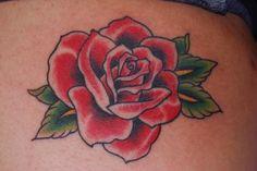 Classic Rose Tattoo Designs images