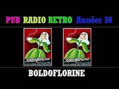PUB RADIO RETRO ANNEES 50 BOLDOFLORINE (L'INTÉGRALE) - YouTube Radios, Pub Radio, The Creator