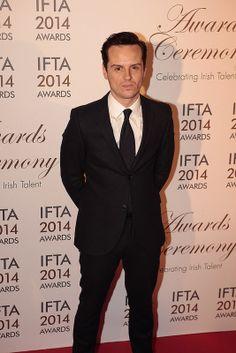 Andrew Scott IFTA's Red Carpet 2014