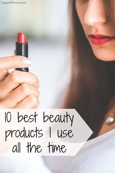 This list includes the 10 best beauty products which I use on a regular basis. These products are in all the major makeup stores, and they are high-quality products that LAST! Makeup you need ~ top beauty products.