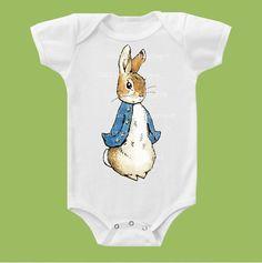 I HAVE 2 LADYBIRD VINTAGE BEATRIX POTTER PETER RABBIT BOYS BABY GROW-6-12 MTHS