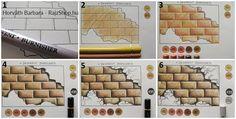 Különböző felületek színezése – 2. rész: tégla, textil, márvány, alumínium