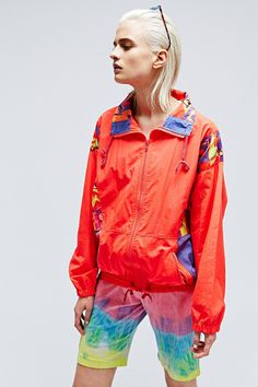 Vintage One-Of-A-Kind Crazy 80s Jacket http://uoeur.pe/uorenewal #UrbanOutfitters #Vintage