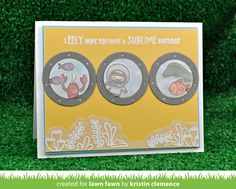 Lawn Fawn Intro: You Are Sublime, Lift the Flap Circles, Porthole Frames - Lawn Fawn Pumpkin Display, Lawn Fawn Blog, Lawn Fawn Stamps, Interactive Cards, Scrapbook Cards, Scrapbooking, Copics, Cardmaking, Paper Crafts