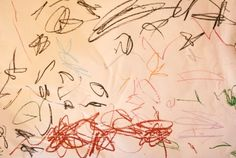 Drawing to music with children, a great activity.  Children become immersed and lost in the music