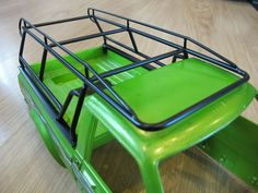 Metal Roof Rack RC Tamiya Toyota High lift Hilux Bruiser Trail Finder For Vehicle Type - Truck, Fuel Source - Electric, For Vehicle Scale - Part - Roof Rack, Compatible Scale - UPC - NA Toyota Hilux, Nitro Boats, Rc Rock Crawler, Veteran Car, Rolling Bar, Mini Trucks, Truck Accessories, Ford Ranger, Roof Rack