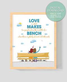 """Digital Download """"Love is what makes"""" 8x10 inches (20.32 x 25.4 cm)  Printable Art"""