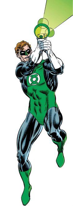 Green Lantern Hal Jordan by Dan Jurgens and Jerry Ordway