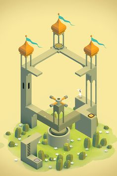 Monument Valley- screenshot