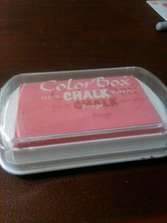 Color Box Fluid Chalk Inkpad Rouge #ColorBox