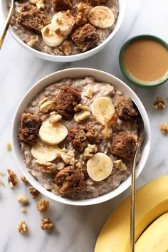 Fluffy Banana Bread Stove Top Oatmeal