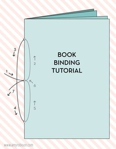 Book binding tutorial diy mini albums new Ideas Mini Albums, Diy Paper, Paper Crafts, Bookbinding Tutorial, Do It Yourself Inspiration, Diy Notebook, Handmade Notebook, Notebook Covers, Journal Covers
