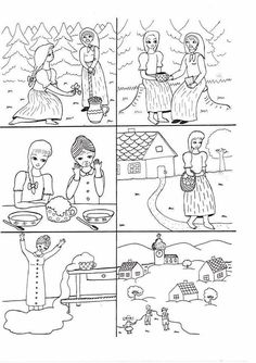 Související obrázek Sequencing Pictures, Story Sequencing, Coloring Sheets, Coloring Pages, Sequence Of Events, Picture Story, Stories For Kids, Speech Therapy, Storytelling