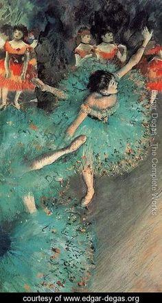 Degas-The Green Dancer