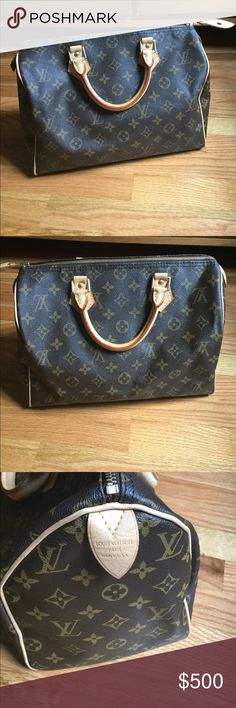 7d9f5193d550 Louis Vuitton Speedy 30 Monogram Bag Top Handle For Sale! Please see my new  listing