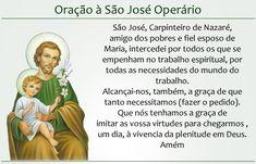 orações santo jose