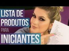 LISTA DE PRODUTOS PARA INICIANTES | Alice Salazar