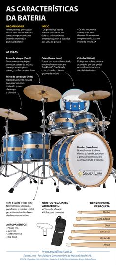 #VemProSouzaLima #Bateria #pratos #drum #drummer #jazz #rock #pop #mpb #organologia #infografico #instrumento musical #conservatorio Drum Music, Piano Sheet Music, How To Play Drums, Don't Judge Me, Drum Kits, Music Lessons, Percussion, Music Quotes, Rock N Roll