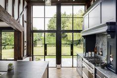 Bedroom Barn Door, French Doors Bedroom, French Doors Patio, Aluminium French Doors, External Doors, Sliding Doors, This Is Us, New Homes, Traditional