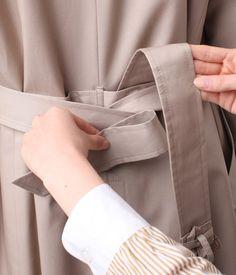 写真でわかる!トレンチコートベルトの結び方定番4パターン – lamire [ラミレ] Belts For Women, Fashion Outfits, Womens Fashion, Beige, My Style, How To Wear, Clothes, Beauty, Ladies Fashion