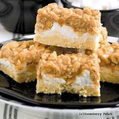 Gooseberry Patch Recipes: Salted Nut Roll Bars from 150 Recipes in a 13x9 Pan Cookbook