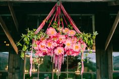 floral chandelier - Noonan's Wine Country Designs