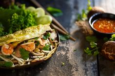 After a few weeks of travelling Vietname enjoying light and crispy Banh Xeo (Vietnamese Pancakes) stuffed with masses of herbs, salad leaves, sprouts, prawns, crisp dried onions, a dash of fish and…
