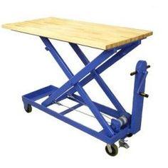 welding table plans or ideas Welding Cart, Diy Welding, Welding Table, Welding Projects, Lift Table, A Table, Diy Ac, Metal Deck, Table Frame