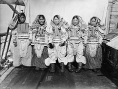Group of Inuit women  Cape Fullerton, Northwest Territories (now Nunavut), ca. 1903