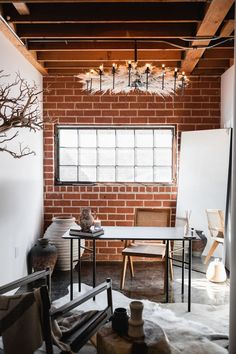 The Oh beauty Interiors Offices needed to reflect who we are and what we stand for! Our vision was to create a rustic modern oasis using natural elements with the help of some of our favorite vendors! Oh Beauty Interiors, A California-based Boutique Interior Design Firm #rusticmodern #interiordesign #exposedbrick #loft #scandinaviandesign #ohbeautyinteriors